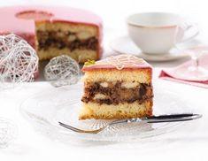 Image/Video: Punschtorte Rezept Sweet Bakery, Cake & Co, Cookie Pie, Images Gif, Finger Foods, Baked Goods, Tiramisu, Nom Nom, Sandwiches