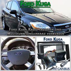 Ist es möglich das Ford Kuga Werksradio zu tauschen ja, kann man aber dasFord Kuga Radio tauschen und Multifunktionslenkrad verwenden und weiter die Steuerung des Autoradios über das Multifunktion…