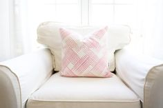 Woven Berry Pillow Cover by WhiteHavenDesigns on Etsy