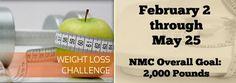 NMC weight loss challenge 2014