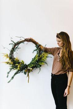 Wreath by Fox Fodder Farm | Nicole Franzen | Flickr - Photo Sharing!