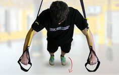 Incorrect end of the TRX exercise - http://www.coretrainingtips.com/6-most-common-mistakes-during-the-trx-workout/