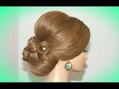Прическа для длинных волос. Hairstyles for long hair tutorial - YouTube
