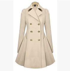 "Fashion women trench coat. Use this coupon code ""playbanovici"" to get all 10% off!"