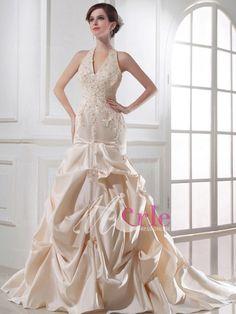 champagne wedding dresses - Google Search