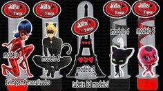 Miraculous - Tubete 3D em corte especial - monte seu kit por apenas R$ 1,00