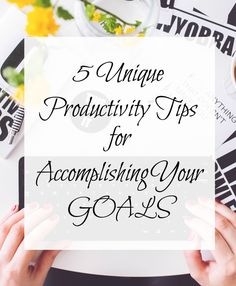Productivity Tips from Adventures of a Twenty-Something