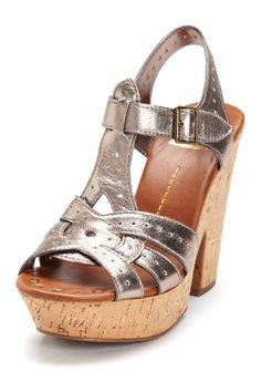 Dolce Vita Tulluah Platform Sandal in silver