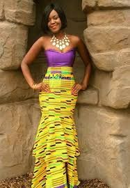 Image result for kente for engagement