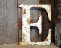 Rustic Letter home decor A B C D E F G H I J K L M N O P Q R S T U V W X Y Z shabby chic cottage wedding decor gift photo prop wood letter