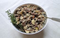 Sourdough Stuffing with Sausage, Apples, and Golden Raisins | Wifey's ...