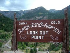 Ouray, Colorado -- actually, the pass between Silverton and Ouray...be sure to buckle up and be in a spirit of prayer before taking on the pass!