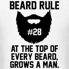 Beard Rule #28