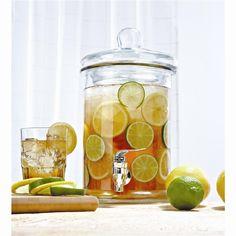 Ksp Aruba Beverage Dispenser W/Spout 5 L Clear   Kitchen Stuff Plus