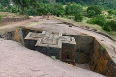 one of the 12 great monothelic rock churches in lalibela ethiopia Chile, Safari, Architectural Materials, Saint George, Pilgrimage, World Heritage Sites, Wonders Of The World, Scenery, Adventure