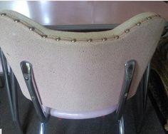 Reupholstering vinyl chairs