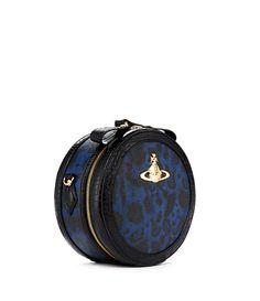 Jungle Leopard Bag 6904 Blue Vivienne Westwood