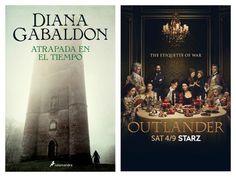 Diana Gabaldon - Atrapada en el tiempo (Book vs Serie)