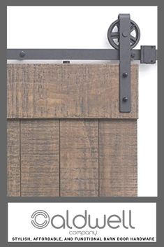 Barn doors are a simple, quick, and functional addition to your space. Visit Caldwell Co. for all your sliding barn door hardware and accessories. A San Francisco brand you can trust.