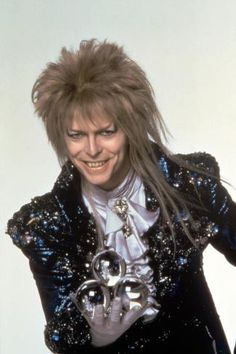 My first exposure to David Bowie was through the movie Labyrinth… I then decided to get involved In his music… That was one of the best choices I ever made. Thanks for everything David Bowie! David Bowie Labyrinth, Labyrinth 1986, Labyrinth Movie, Goblin King, Terry Jones, David Jones, Jennifer Connelly, Labrynth, Photo Print