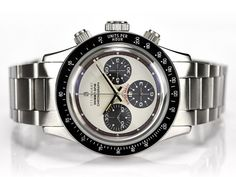 Steinhart Ocean One Vintage Chronograph, Paul Newman Daytona homage watch. Luxury Watches, Rolex Watches, Watches For Men, Wrist Watches, Rolex Daytona, Paul Newman Daytona, Steinhart Ocean One, Steinhart Watch, Ring Watch
