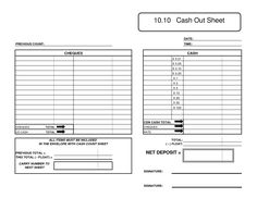 Best Photos of Cash Count Sheet Excel - Cash Drawer Count Sheet Excel, Cash Count Sheet Template and Deposit Ticket Template Excel Money Template, Ticket Template, Templates, Rustic Garden Decor, Rustic Gardens, Check Cashing, Galley Kitchen Design, Counting, Cool Photos