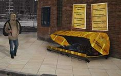 Urban Catepillar - I find it admirable that there are so many designs and innovations popping up for the homeless such as the Urban Catepillar. Not only is homelessne...