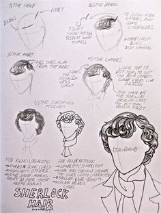 How To Draw Sherlock's Hair by LucyLooStudios on DeviantArt