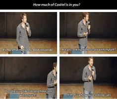 ROFLMAO!!!! Only Mishap! Or, really, anyone else on the SPN cast! [SET OF GIFS] Misha convention panel