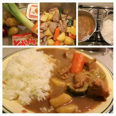 curry rice giapponese ricetta