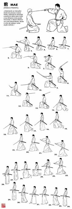 eastern sword mastery - poses diagram
