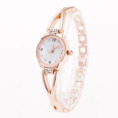Cindiry Ladies Bracelet Watches Stainless Steel 18cm Quartz Wristwatches With Diamond Women Bangle Watches P25