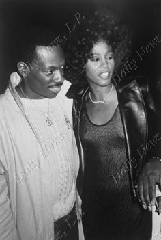 Eddie Murphy and Whitney Houston in 1987. Photo by Richard Corkery, New York Daily News