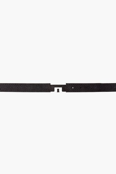 J.lindeberg Black Sloper Belt  $170