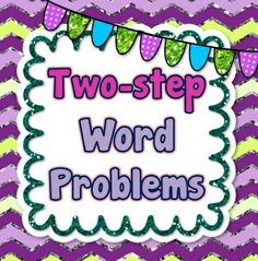 This product contains 20 multi-step word problems. I have included 2 different formats. One is a printable page format with 2 problems per page. I have also included all 20 problems in a math journal format if you prefer to use them this way. #commoncore #commoncoremath #wordproblems