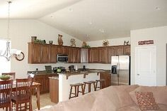 St. George house rental - Great room, kitchen & dining area 175/night  house