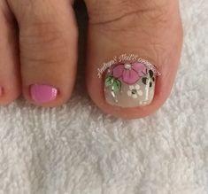 Veronica, Nail Art, Nice Nails, Designed Nails, Simple Nail Designs, Simple Toe Nails, Toe Nail Art, Polish Nails, Decorations