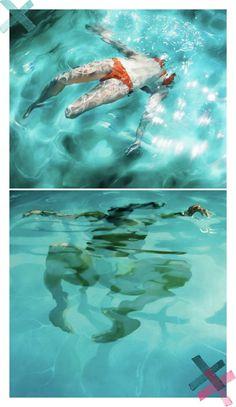 sarah harvey pool paintings