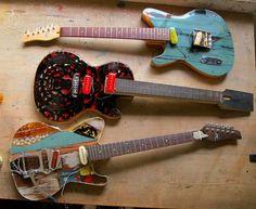 Garage guitars!