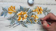 Flores Silvestres em Tecido (Aula 86)