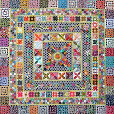Midnight at the Oasis Jen Kingwell Designs Scrappy Quilt Pattern Sampler Quilts, Scrappy Quilts, Quilting Projects, Quilting Designs, Quilting Ideas, Quilt Design, Quilting Tutorials, Applique Designs, Electric Quilt