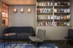 The Interiors Group has recently developed a new office space for WME Entertainment in London. The Interiors Group have delivered and fitted out just over Breakout Area, News Space, Corner Desk, Bookcase, Shelves, Entertaining, London, Interior Design, Offices