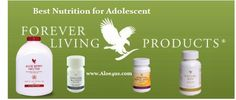 For Adolescent: Aloe Berry Nectar, Royal Jelly, Nature Min, Forever B12  www.aloe4us.com