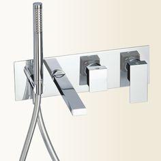 New_Space #bath shower with spout  shower kit - Gaboli f.lli #mixer-          #Vasca New_Space  con bocca e kit doccia - #Miscelatore Gaboli f.lli -