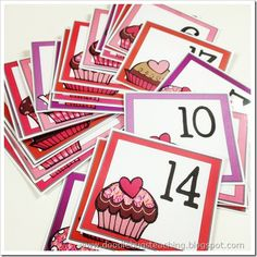 I just finished the February calendar cards. I love Valentine colors. pinks, reds, and purples! Calendar Themes, Calendar Numbers, Preschool First Day, Free Preschool, Printable Numbers, Printable Cards, Printables, Classroom Calendar, Classroom Ideas