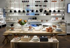 Iittala flagship store by Pentagon Design, Helsinki Finland design shop