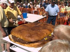 Burgerfest from Seymour, Wisconsin.... Only in wisconsin