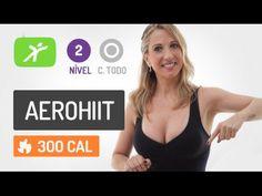 Treino de Ginástica em Casa! Aerohiit, Gostoso de Fazer e Super Eficaz. Queime até 350 kcal - YouTube