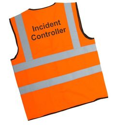 Incident Controller Vest - High Visibility Identification Vest