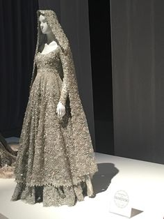 Dark Gray Bridal Wear Dress - Anarkali Bridal Frock - Embroidered Lehenga nice design but colours too cold. gold tones would be better Asian Bridal Dresses, Asian Wedding Dress, Pakistani Wedding Outfits, Pakistani Bridal Dresses, Indian Bridal Wear, Pakistani Wedding Dresses, Pakistani Dress Design, Bridal Outfits, Indian Dresses